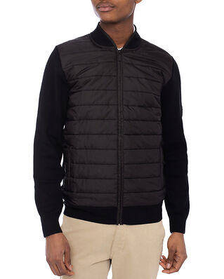 Barbour B.Intl Baffle Zip Through Black