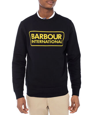 Barbour B.Intl Large Logo Sweat Black