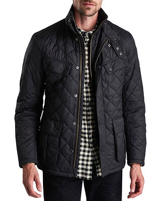 Barbour B.Intl Windshield Quilt (TR) Black