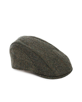 Barbour Barbour Herringbone Tweed Cap Olive