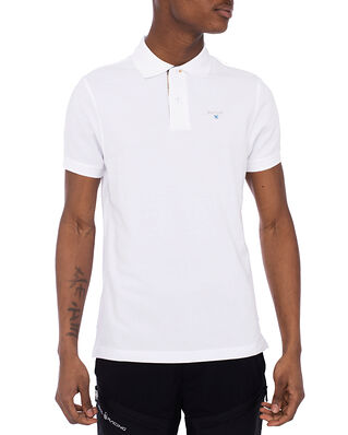 Barbour Barbour Tartan Pique Polo White