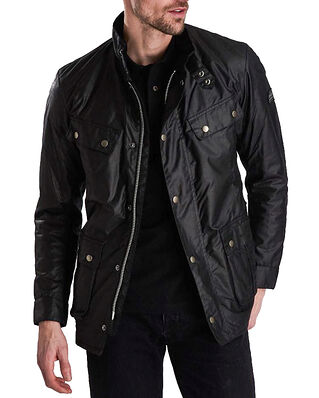 Barbour B.Intl Duke Wax Jacket Black