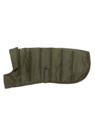 Barbour Barbour Baffle Quilted Dog Coat Olive