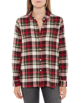 Barbour Barbour Hedley Shirt Blackberry Check