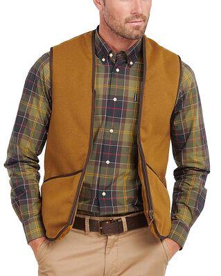 Barbour Barbour Warm Pile Waistcoat Zip-In Liner Light Brown