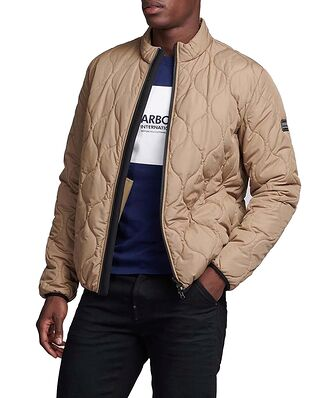 Barbour B.Intl Acc Race Quilt Military Brown