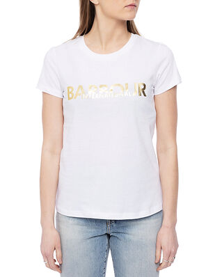 Barbour B.Intl Delta Tee White