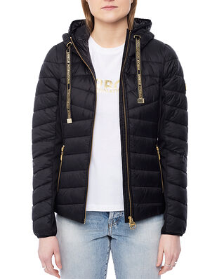 Barbour B.Intl Grid Quilt Black
