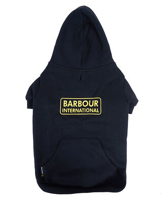 Barbour B.Intl Hooded Dog Coat Black