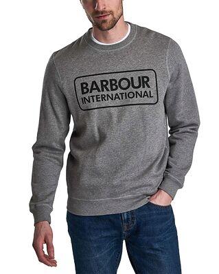 Barbour B.Intl Large Logo Sweat Anthracite Marl