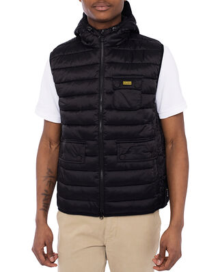 Barbour B.Intl Ousten Hooded Gilet Black