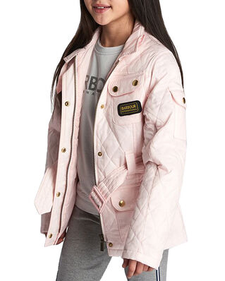 Barbour Junior Flyweight International Quilt  Cameo Pink/Came