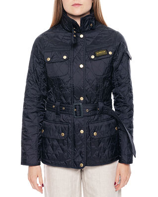 Barbour International Quilt Navy