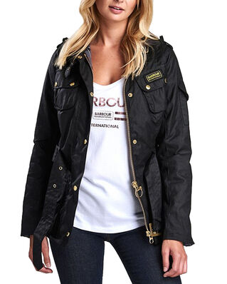 Barbour Ladies International  Black