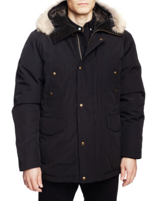 Belstaff Meadwell W/Fur Black