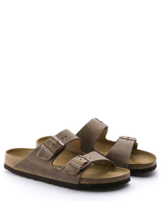 Birkenstock Arizona Oiled Leather Classic Footbed Tobacco Brown