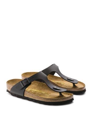 Birkenstock Gizeh Birko-flor Classic Footbed Black