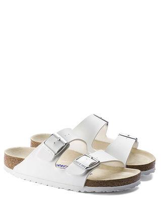 Birkenstock Arizona Birko-Flor Soft Footbed White