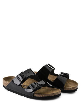 Birkenstock Arizona  Patent Black