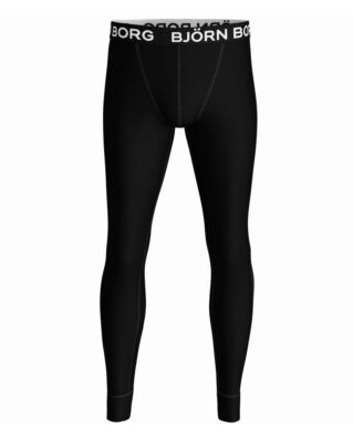 Björn Borg 1-Pack Long Johns Seasonal Solid Black Beauty