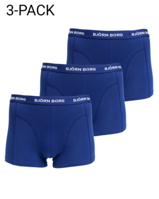 Björn Borg 3-Pack Short Shorts Blue Depths