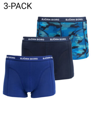 Björn Borg 3-Pack Short Shorts Total Eclipse