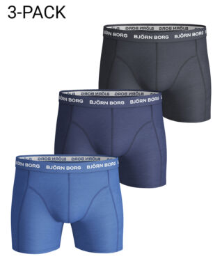 Björn Borg 3P Shorts Noos Solids Skydiver