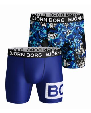 Björn Borg Junior 2-Pack Shorts Bb Snaky Swirl Surf The Web