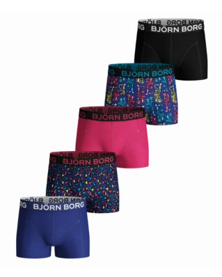 Björn Borg Junior 5-Pack Shorts Bb Energy Leo Mini & Bb Tiger Mini Surf The Web
