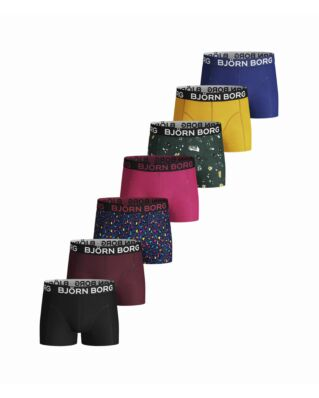 Björn Borg Junior Shorts Bb Graffboi & Bb Energy Leo 7P Evergreen