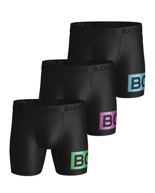 Björn Borg Shorts Per Bb Radiate Black Green