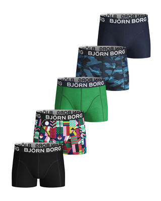 Björn Borg Shorts Sammy Bb Geo Flag & Bb Sha Mint Leaf