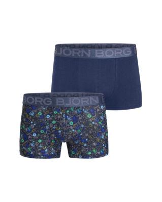 Björn Borg Trunk Bb La Flower 2P Insignia Blue