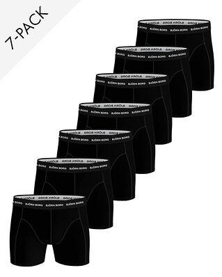 Björn Borg 7-Pack Essential Boxer Black