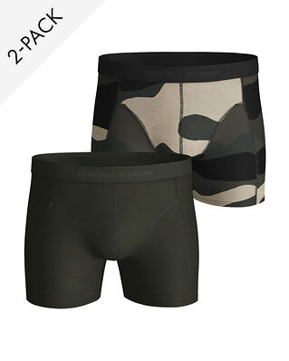 Björn Borg 2-Pack Tencel Bb Peaceful Sammy Shorts Black Beauty