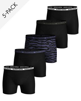 Björn Borg 5-Pack Shorts Sammy Bb 2Tiger Crown Blue