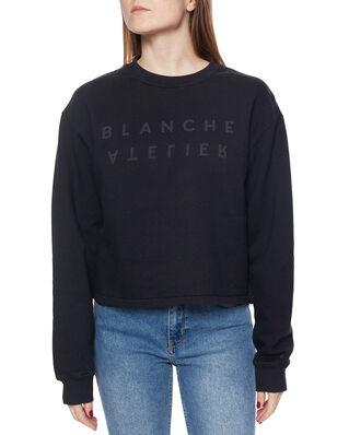 Blanche Alba Sweater  Caviar