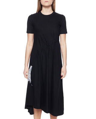 Blanche Draw Dress Black