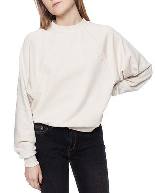 Blanche Hella Oversize Embossed Sweatshirt White Sand