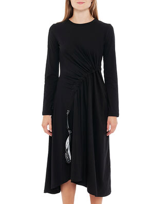 Blanche Main Draw Dress LS Black