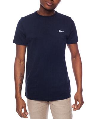 Bleu De Paname Tee-shirt M.C. Badge Bleu