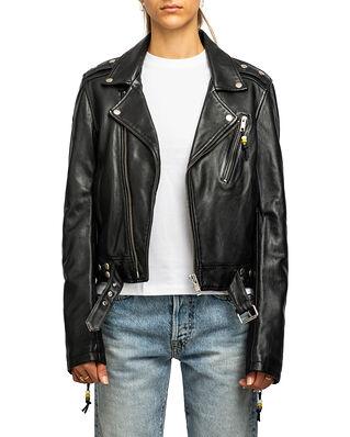 BLK DNM Leather Jacket 1 Black