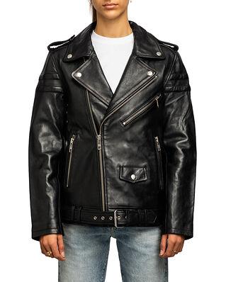BLK DNM Leather Jacket 8 Black