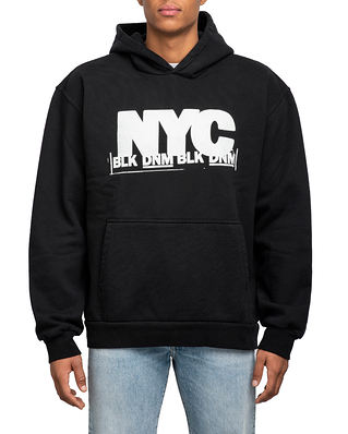 BLK DNM Sweater 11 Black White NYC Print
