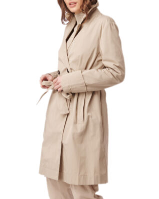Boomerang Alba Coat Feather Beige