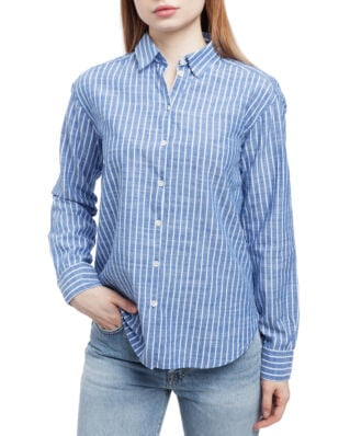 Boomerang Alva Striped Shirt Deep Sea