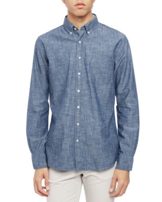 Boomerang Anders Chambray T.A. Fit B.D. Shirt Light Indigo