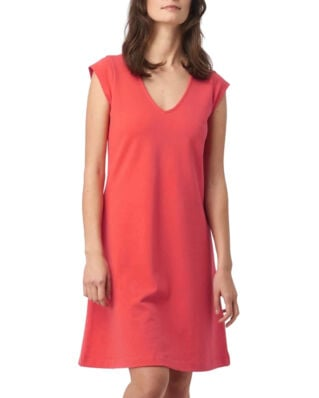 Boomerang Bella Pique Dress Tomato Red