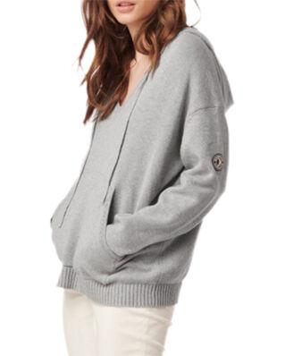 Boomerang Elise Hoddie Sweater Lt Grey Melange