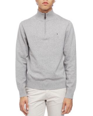 Boomerang Foreman Half Zip Sweater Lt Grey Melange